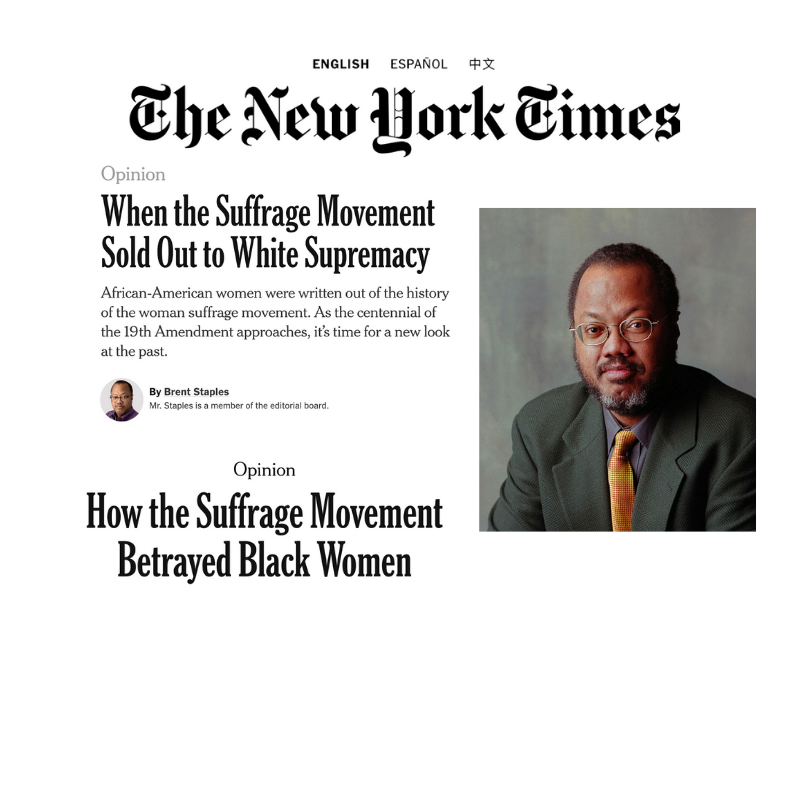 Brent Staples In The New York Times On African-American